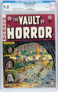 Golden Age (1938-1955):Horror, Vault of Horror #27 Double Cover With EC Mailing Envelope (EC,1952) CGC NM/MT 9.8 Off-white to white pages....