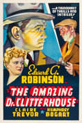"Movie Posters:Crime, The Amazing Dr. Clitterhouse (Warner Brothers, 1938). Other CompanyOne Sheet (27.5"" X 41.25"").. ..."