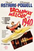 "Movie Posters:Musical, Broadway Melody of 1940 (MGM, 1940). One Sheet (27"" X 41"") StyleD.. ..."