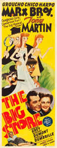 "Movie Posters:Comedy, The Big Store (MGM, 1941). Insert (14"" X 36"").. ..."