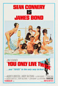 "Movie Posters:James Bond, You Only Live Twice (United Artists, 1967). One Sheet (27.5"" X 41"") Style C.. ..."
