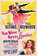 "Movie Posters:Musical, You Were Never Lovelier (Columbia, 1942). One Sheet (27"" X 41"") Style A.. ..."