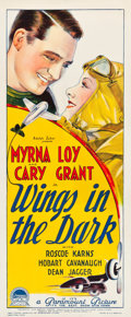 "Movie Posters:Adventure, Wings in the Dark (Paramount, 1935). Australian Daybill (15"" X 36"").. ..."