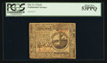 Colonial Notes:Continental Congress Issues, Continental Currency February 17, 1776 $2 PCGS About New 53PPQ.. ...