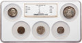 Certified Modern Proof Sets, Five-Piece 1936 Proof Set NGC.... (Total: 5 coins)
