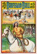 "Movie Posters:Western, The Life of Buffalo Bill (Pawnee Bill Film Co., 1912). One Sheet(28.25"" X 41.25"").. ..."