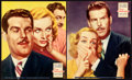 "Movie Posters:Comedy, True Confession (Paramount, 1937). Jumbo Lobby Card Set of 8 (14"" X17"").. ... (Total: 8 Items)"