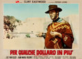 "Movie Posters:Western, For a Few Dollars More (PEA, 1965). Double Italian Photobusta (26.5"" X 36.5"").. ..."