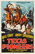 "Movie Posters:Western, Texas Pioneers (Monogram, 1932). One Sheet (27"" X 41"").. ..."