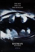 """Movie Posters:Action, Batman Returns (Warner Brothers, 1992). One Sheet (27"""" X 40"""") DS Advance. Action.. ..."""