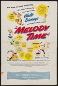 """Movie Posters:Animation, Melody Time (RKO, 1948). Pressbook (Multiple Pages, 12"""" X 18"""").Animation.. ..."""