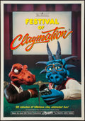 """Movie Posters:Animation, Festival of Claymation & Other Lot (Expanded Entertainment, 1987). One Sheets (2) (27"""" X 40"""" & 27"""" X 41""""). Animation.. ... (Total: 2 Items)"""