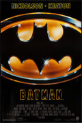 "Movie Posters:Action, Batman (Warner Brothers, 1989). One Sheet (27"" X 40.5""). Action....."