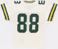 Football Collectibles:Uniforms, 1991 Charles Wilson Game Worn Green Bay Packers Jersey - With Built In Hand Warmers!...