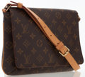 Luxury Accessories:Bags, Louis Vuitton Classic Monogram Canvas Musette Tango PM Bag. ...