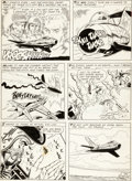 Original Comic Art:Panel Pages, Ross Andru and Mike Esposito All-American Men of War #92Page 6 Original Art (DC, 1962)....