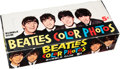 Music Memorabilia:Memorabilia, Beatles Color Photos Card Box Complete With 24 Unopened Card Packs,(USA, 1964)....