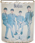 Music Memorabilia:Memorabilia, Beatles Wall Lamp Shade (USA, 1964)....