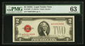 Small Size:Legal Tender Notes, Fr. 1508* $2 1928G Legal Tender Star Note. PMG Choice Uncirculated 63.. ...
