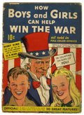 Golden Age (1938-1955):Non-Fiction, How Boys and Girls Can Help Win the War #1 (Parents' MagazineInstitute, 1942) Condition: GD-....