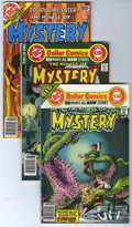 Modern Age (1980-Present):Horror, House of Mystery Group (DC, 1977-83) Condition: Average VF/NM....(Total: 39 Comic Books)