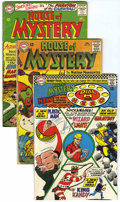 Silver Age (1956-1969):Horror, House of Mystery Group (DC, 1964-68) Condition: Average VG/FN....(Total: 16 Comic Books)