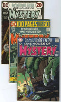 Bronze Age (1970-1979):Horror, House of Mystery Group (DC, 1967-80) Condition: Average VG-....(Total: 15 Comic Books)