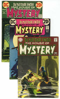 Bronze Age (1970-1979):Horror, House of Mystery Group (DC, 1969-77) Condition: Average VF....(Total: 16 Comic Books)