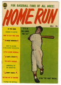 Golden Age (1938-1955):Non-Fiction, Home Run #3 (Magazine Enterprises, 1953) Condition: FN....