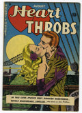 Golden Age (1938-1955):Romance, Heart Throbs #1 (Quality, 1949) Condition: FN-....