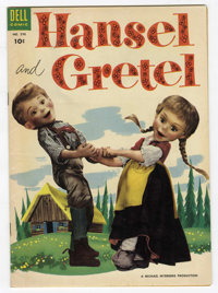 Four Color #590 Hansel and Gretel (Dell, 1954) Condition: FN/VF