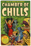 Golden Age (1938-1955):Horror, Chamber of Chills #21 (#1) File Copy (Harvey, 1951) Condition:FN/VF....