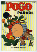 Golden Age (1938-1955):Funny Animal, Dell Giant Comics Pogo Parade #1 (Dell, 1953) Condition: VF....