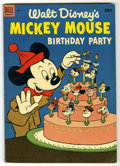Golden Age (1938-1955):Cartoon Character, Dell Giant Comics Mickey Mouse Birthday Party (Dell, 1953)Condition: FN/VF....