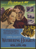 """Movie Posters:Romance, Wuthering Heights (United Artists, 1939). Herald (6"""" X 8.75""""). Romance. ..."""