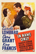 "Movie Posters:Romance, In Name Only (RKO, 1939). One Sheet (27"" X 41""). Romance.. ..."