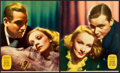 "Movie Posters:Drama, Angel (Paramount, 1937). Jumbo Lobby Cards (7) (14"" X 17"").. ...(Total: 8 Items)"