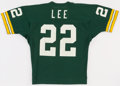 Football Collectibles:Uniforms, 1982 Mark Lee Game Worn Green Bay Packers Jersey....