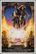 "Movie Posters:Adventure, Raiders of the Lost Ark (Paramount, R-1991). 10th Anniversary OneSheet (27"" X 41"") Style A. Adventure.. ..."