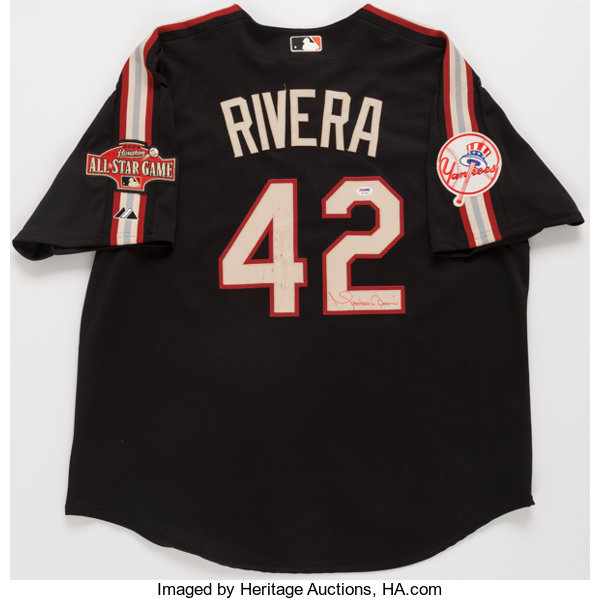 7416f90a6 Mariano Rivera Signed All Star Jersey.... Baseball Collectibles ...