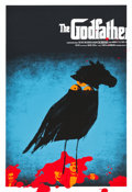 "Movie Posters:Crime, The Godfather (Mondo, 2009). Limited Edition Screen Print Poster(24.5"" X 39.75"").. ..."