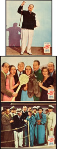 "Movie Posters:Comedy, The Big Broadcast of 1938 (Paramount, 1938). Jumbo Lobby Card Setof 8 (14"" X 17"").. ... (Total: 8 Items)"
