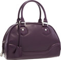"Luxury Accessories:Bags, Louis Vuitton Purple Epi Leather Bowling Montaigne Bag .Excellent Condition. 13"" Width x 9"" Height x 6"" Depth. ..."