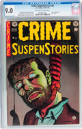 Golden Age (1938-1955):Crime, Crime SuspenStories #20 (EC, 1953) CGC VF/NM 9.0 Off-white to white pages....