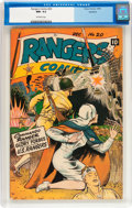 Golden Age (1938-1955):War, Rangers Comics #20 Rockford pedigree (Fiction House, 1944) CGC NM-9.2 Off-white pages....