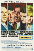 "Movie Posters:Crime, Ocean's 11 (Warner Brothers, 1960). Poster (40"" X 60"") Style Y....."