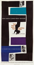"Movie Posters:Drama, The Man with the Golden Arm (United Artists, 1955). Three Sheet(41"" X 78.5"").. ..."