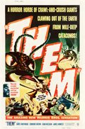 "Movie Posters:Science Fiction, Them! (Warner Brothers, 1954). Poster (40"" X 60"") Style Y.. ..."