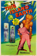 "Movie Posters:Science Fiction, This Island Earth (Universal International, 1955). Poster (40"" X 60"") Style Y.. ..."