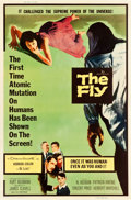 "Movie Posters:Science Fiction, The Fly (20th Century Fox, 1958). Poster (40"" X 60"") Style Z.. ..."